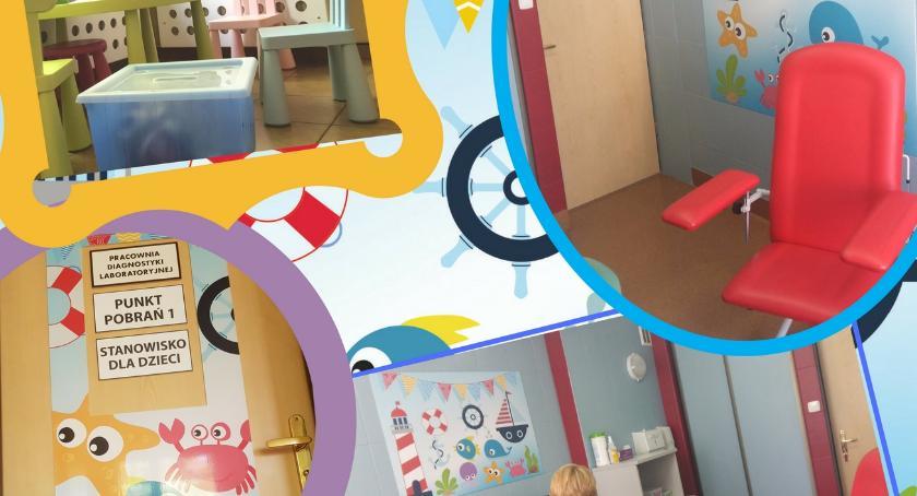 Zdrowie, Gabinet pobrań dzieci Piasecznie czynny - zdjęcie, fotografia