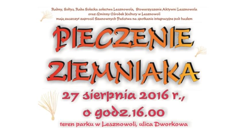 Pieczenie ziemniaka - Piknik rodzinny | Lesznowola | 27.08.2016