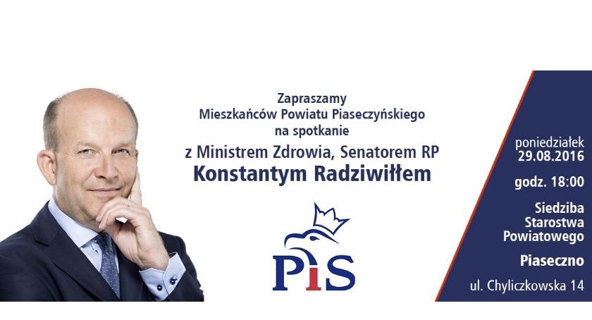 Spotkanie z Senatorem RP Konstantym Radziwiłłem